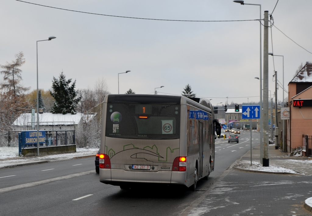 MAN NL253 Lion`s City Hybrid #W2 281B